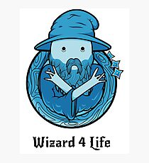 Wizard 4 Life Photographic Print
