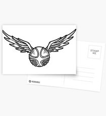 Golden Snitch Postcards