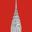 Chrysler Building  by Adam Regester