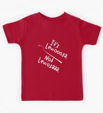 It's Leviooooosa. Kids Tee
