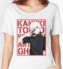 Ken Kaneki logo Women's Relaxed Fit T-Shirt
