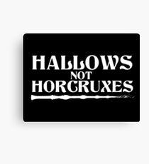 Hallows, not Horcruxes Canvas Print