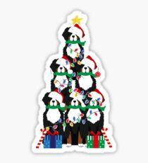 Holiday Bernese Mountain Dog Puppy Christmas Tree Sticker
