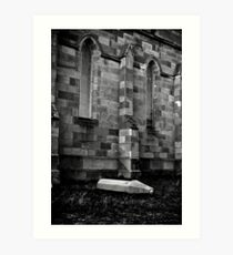 Fallen From Grace Art Print