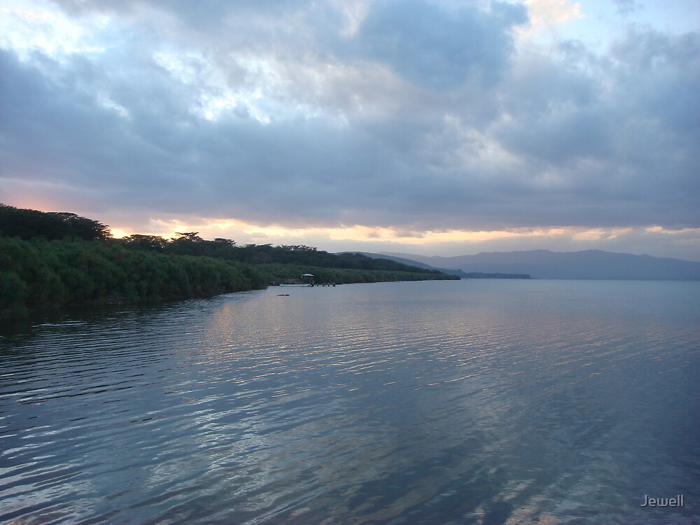 Lake Naivasha Sunset by Jewell