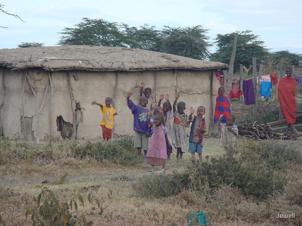 Masaii Village by Jewell