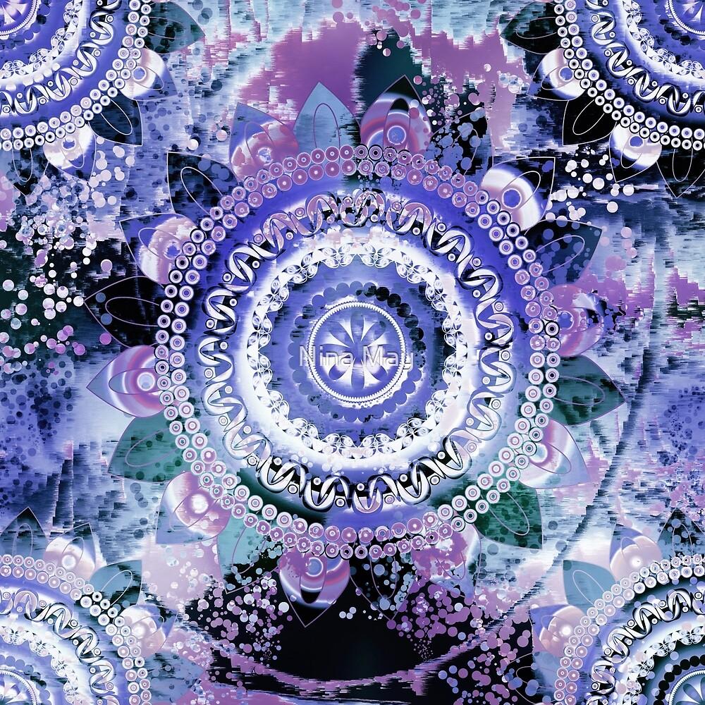 Hyacinth Mandala by Nina May