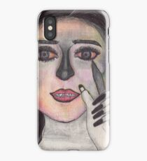 'That Girl' Art by Elysia Kirk iPhone Case/Skin