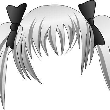 Manga Hair 2. by Claudiocmb