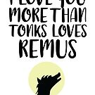 More Than Tonks Loves Remus by FairyNerdy