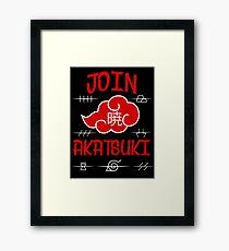 Join Akatsuki v4 Framed Print