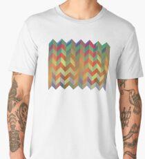 Chevron On Stilts Men's Premium T-Shirt