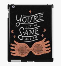 Luna Potter iPad Case/Skin