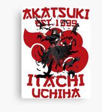 Itachi Uchiha Akatsuki Canvas Print