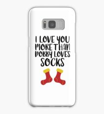 More Than Dobby Loves Socks Samsung Galaxy Case/Skin
