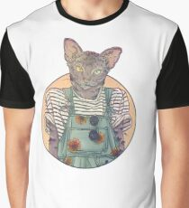 Daisy the Abyssinian Cat Graphic T-Shirt
