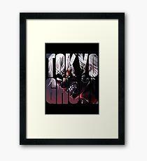 Tokyo Ghoul Logo v3  Framed Print