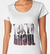 Tokyo Ghoul Logo v3  Women's Premium T-Shirt