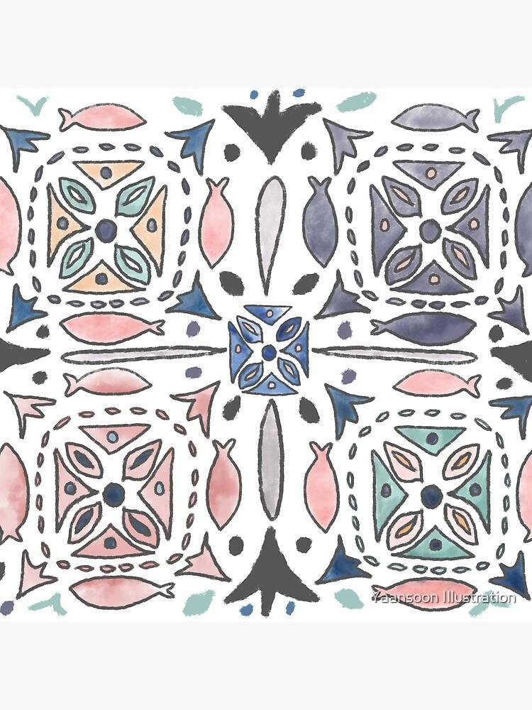 Mediterranean Tiles by yaansoon