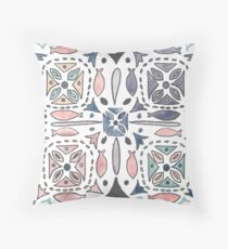 Mediterranean Tiles Floor Pillow