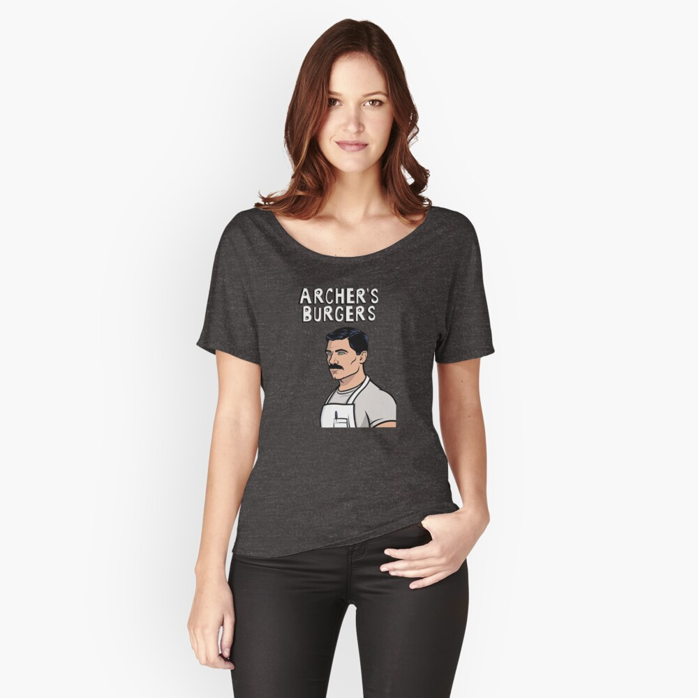 ARCHER'S BURGERS Relaxed Fit T-Shirt