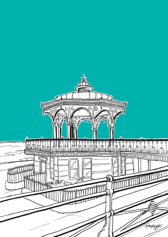Brighton & Hove Bandstand by Adam Regester