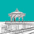 Brighton & Hove Bandstand by Adam Regester