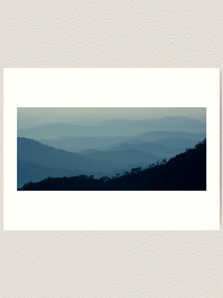 Alternate view of Early Morning - Gibraltar Ranges Art Print