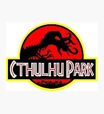 Cthulhu Park Photographic Print