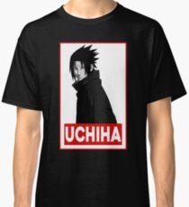 Uchiha Obey Logo Classic T-Shirt