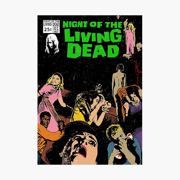 Night of the Living Dead Photographic Print