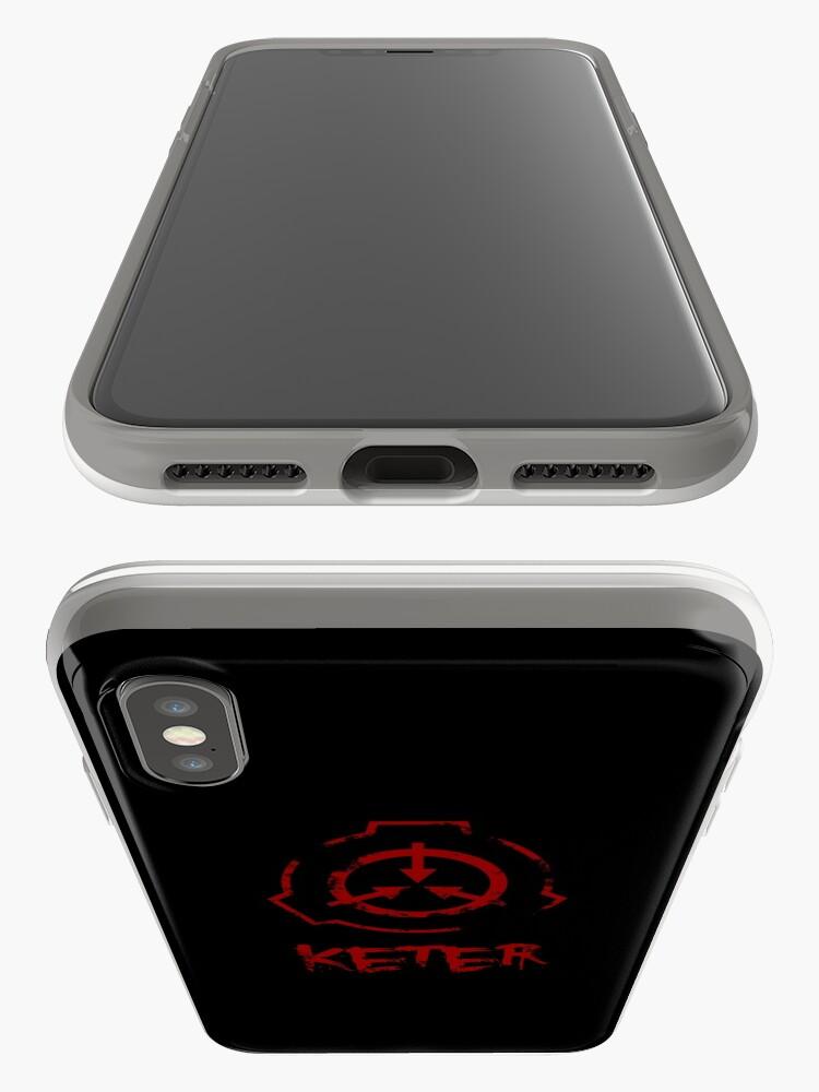 Alternative Ansicht von SCP-Stiftung: Keter iPhone-Hüllen & Cover