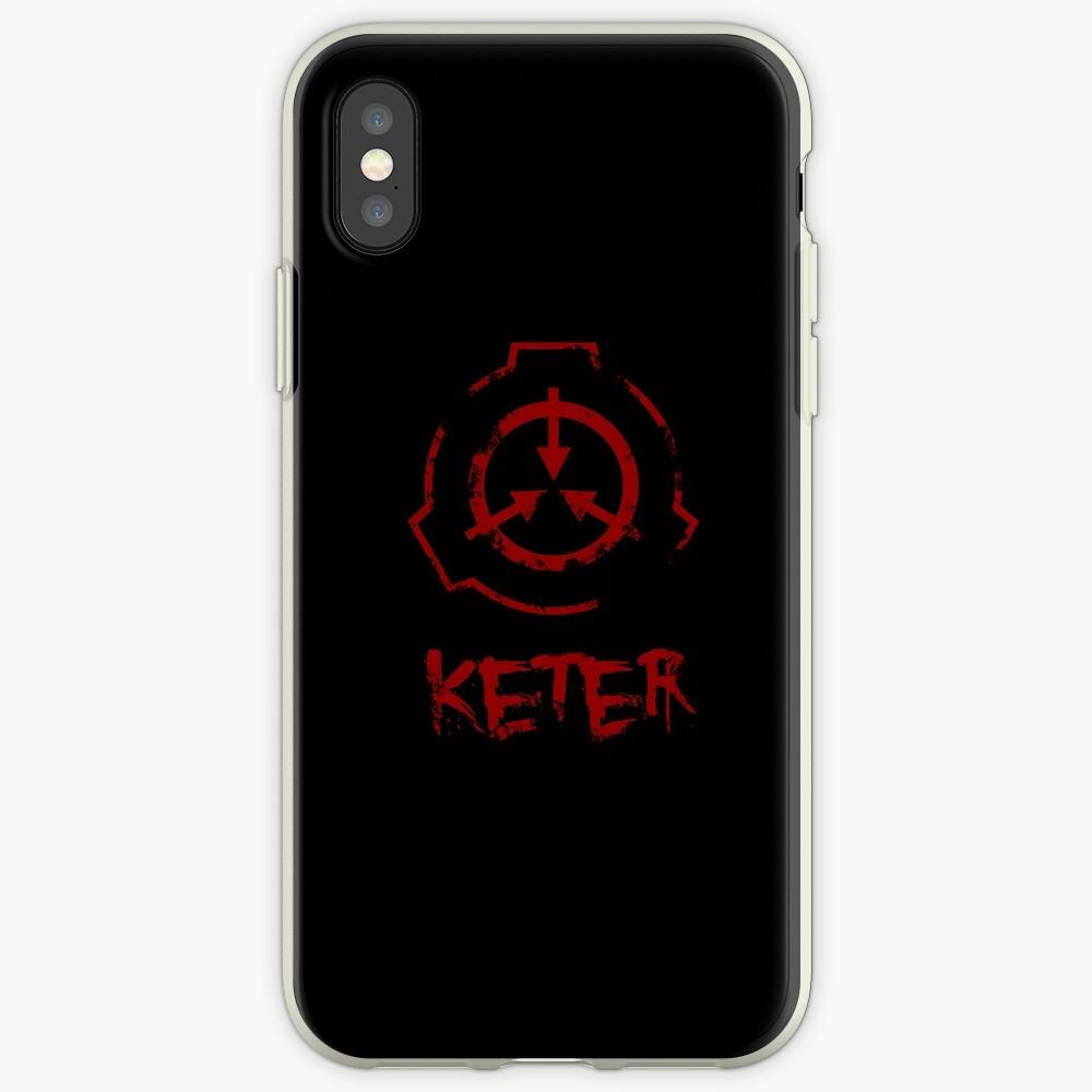 SCP-Stiftung: Keter iPhone-Hüllen & Cover
