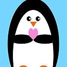 Penguin Love by Adam Regester