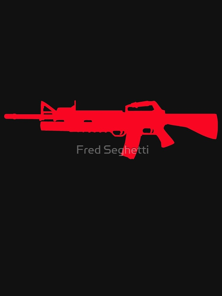 M16/203 Grenade Launcher by Fred Seghetti