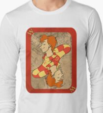 Fred and George Playing Card Long Sleeve T-Shirt