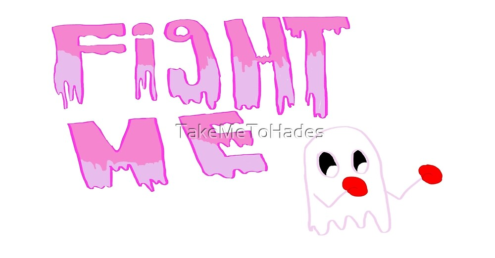 Fighting ghost by TakeMeToHades