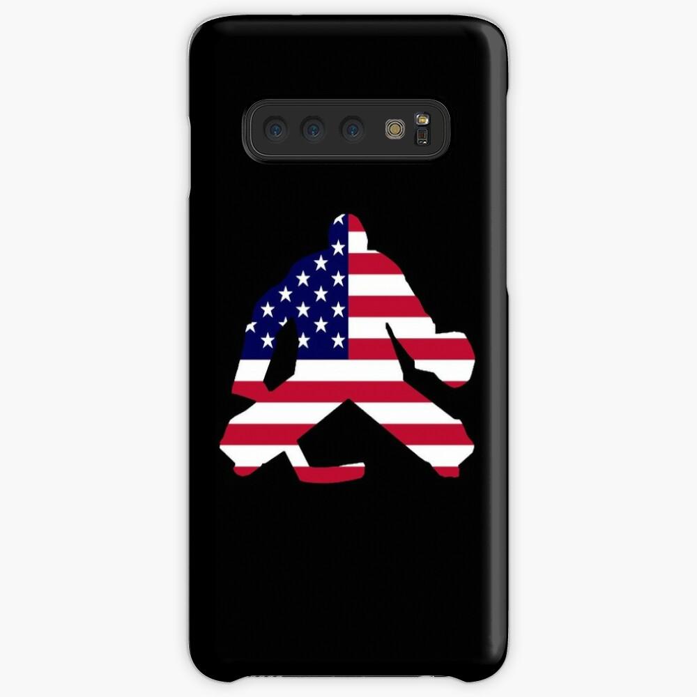 American Flag Goalie Hüllen & Klebefolien für Samsung Galaxy