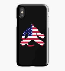 American Flag Goalie iPhone Case/Skin