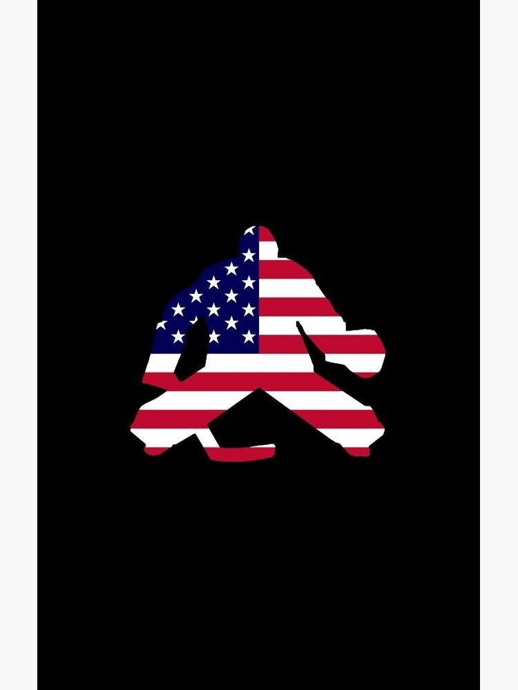American Flag Goalie von darthpaul