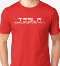TESLA Remove Before Flight T-Shirt