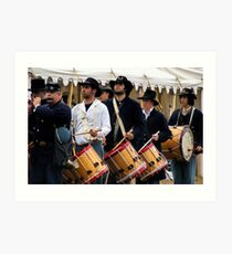 Fife & Drum Art Print
