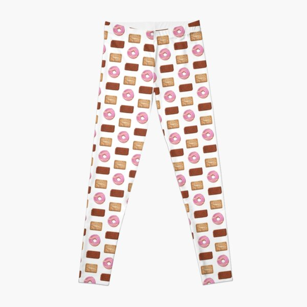 Biscuits: Custard Cream, Party Ring and Bourbon Leggings