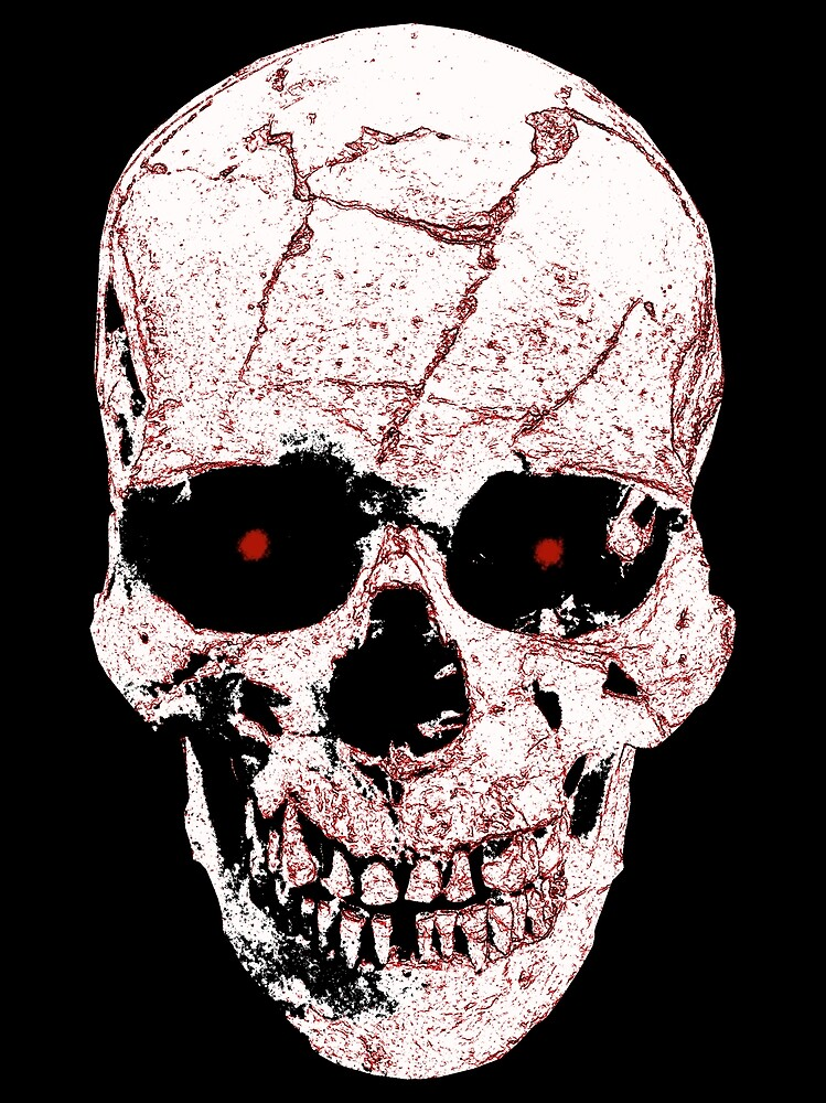 Evil Skull by darthpaul