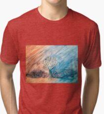border tree Tri-blend T-Shirt