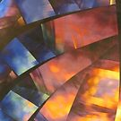 Abstract Glass by Susan  Bergstrom