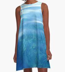 Ocean Floor  A-Line Dress