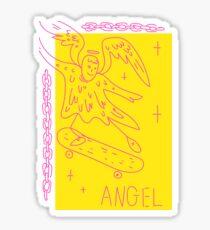 Sk8 Angel Sticker