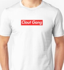 Clout Gang (Ricegum Faze Banks Alissa Violet) Box logo T-Shirt
