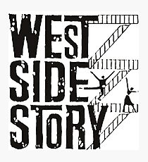 West Side Story logo Photographic Print